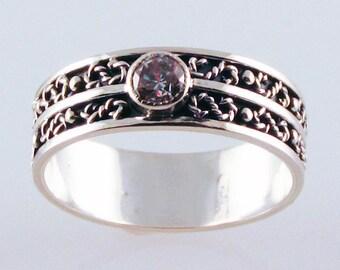 White Diamond Engagement Ring