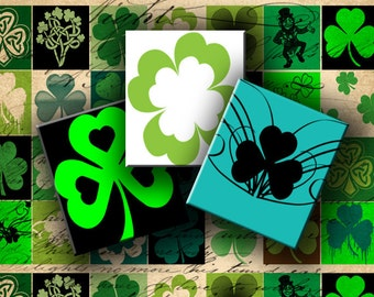 INSTANT DOWNLOAD Digital Collage Sheet St. Patrick's Day 0.75 X 0.85 inch (Scrabble Size) - DigitalPerfection digital collage sheet 488