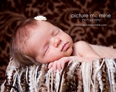 Ready to Ship. Boy or Girl Dust Fringe Blanket. Newborns, toddlers, and maternity photography prop.