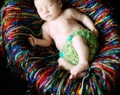 Rainbow Fringe Blanket . newborns, toddlers, and maternity photography prop.