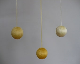 The Gobbi Mobile - Yellow (3 spheres)