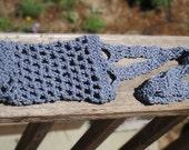 Crocheted Water Bottle Tote