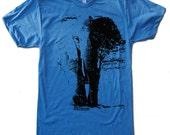 Men's ELEPHANT T Shirt american apparel S M L XL (14 Colors Available)