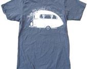 Men's VINTAGE CAMPER t shirt american apparel S M L X L (16 Colors Available)