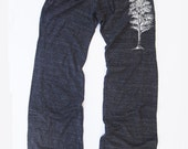 Womens TREE : Eco Heather Alternative Earth Drawstring Pants (S M L XL)