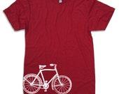 Men's VINTAGE BIKE T Shirt american apparel S M L XL (16 Colors Available)