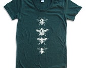 Womens BEES american apparel t shirt All Sizes S M L XL (17 Color Options)