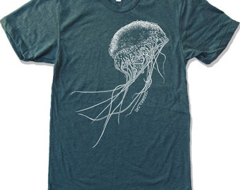 Mens JELLYFISH T-Shirt s m l xl xxl (+ Color Options)