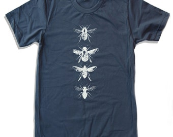 Mens BEES american apparel T Shirt All Sizes S M L XL (16 Colos Available)