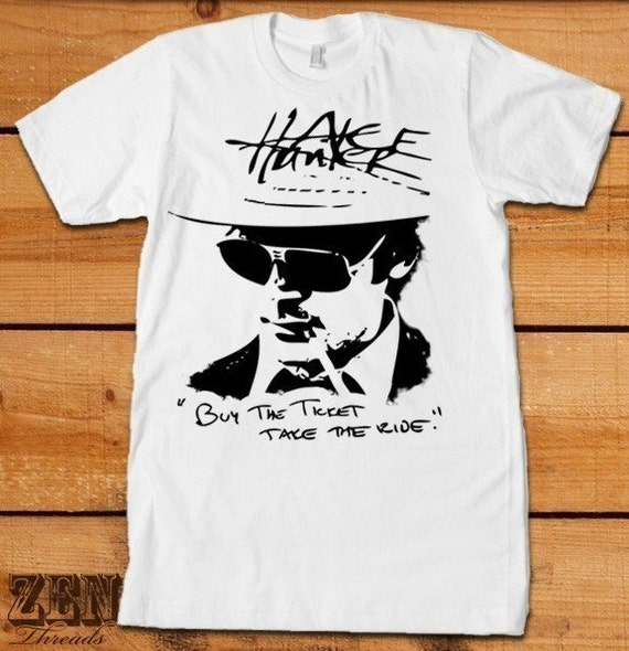 Men S Hunter S Thompson T Shirt American Apparel S By