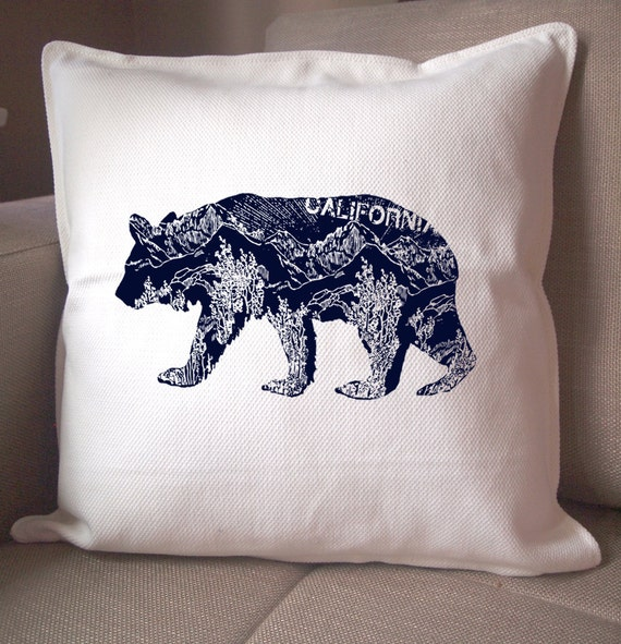 Bear Throw Pillow Covers : Unavailable Listing on Etsy