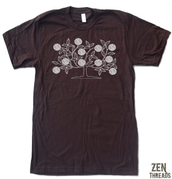 Mens VINTAGE TREE T-Shirt american apparel S M L XL (17 Colors Available)