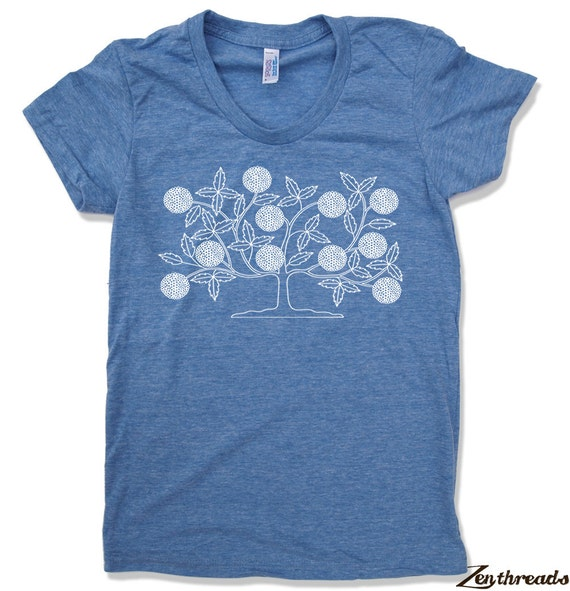 Womens VINTAGE TREE T-Shirt american apparel S M L XL (15 Colors Available)
