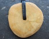 Reserved for CindyKingOnEtsy. Natural Wood Pendant - Elder - Enhances All Magic.