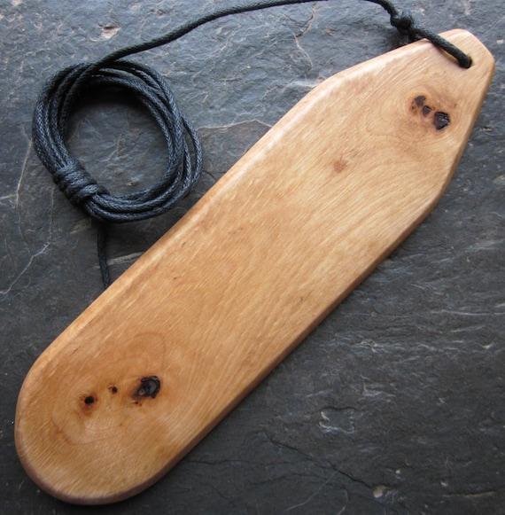 Natural Wood Bullroarer - Hazel - for Inspiration.