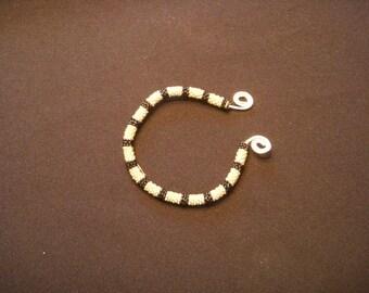 Beaded Bangle Bracelet