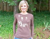 Tiger tshirt - SUPER soft Alternative Apparel Long Sleeve tee