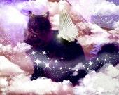 Fantasy image of my kitty....