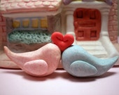 Lovebirds Figurine