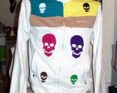 Ben Sherman's Amazing Technicolour Scullcoat - Silkscreened Track Jacket