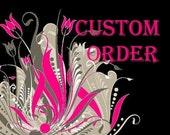Custom Order for Craftywebb