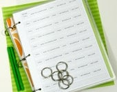 Planner Printables. 8.5 x 11 Home Management. Home Life. Instant Download.