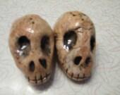 Skull Salt and Pepper Shakers