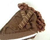 Felt Food - Slice Of Chocolate Cake