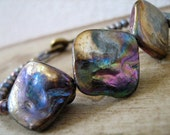 Mystic Mermaid Purple Shell Bracelet- aurora collection