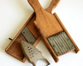 Wood Kitchen Tools - Instant Collection of Primitive Kitchen Utensils