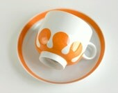 Reserved until 4/6 - Mid Century Mondial Tea Cup and Saucer