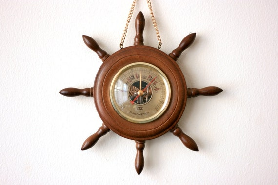 Vintage Nautical Barometer