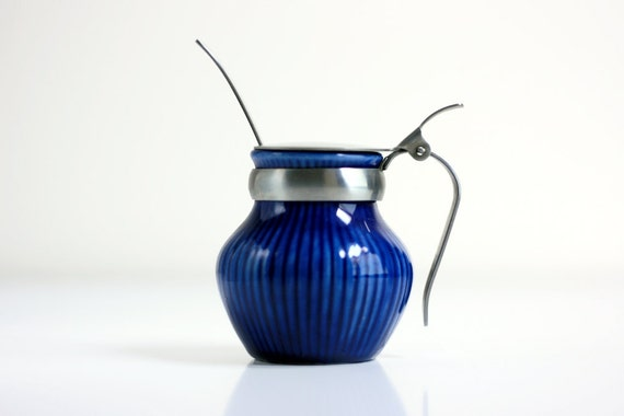 Swedish Modern Condiment Pot by Rorstrand Sweden