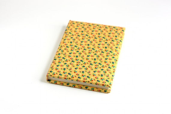 Vintage Fabric Covered Journal