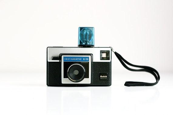Vintage Kodak Camera - Instamatic X-15