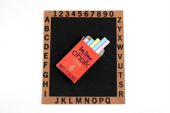 Vintage Chalkboard Set