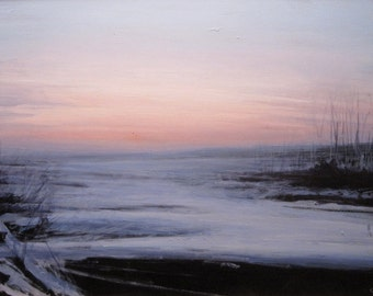 Landscape oil painting - Gaze Back