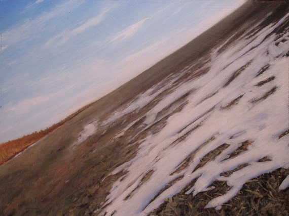 Near, original landscape oil painting