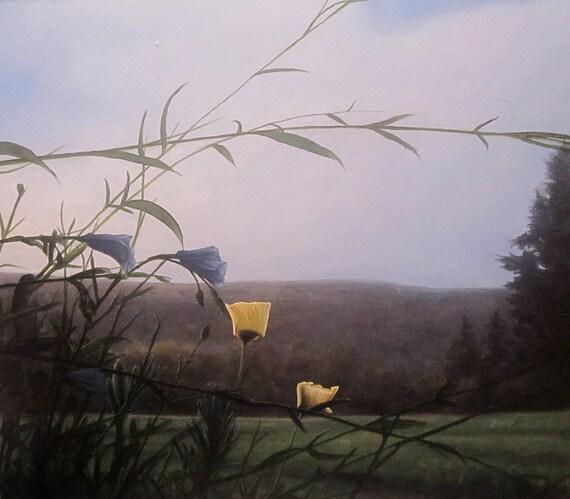 Secret Shiver, original landscape oil painting, print