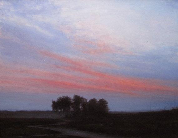 Landscape oil painting - Close Fade