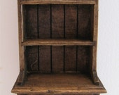 Kitchen Hutch or Dresser, country style, twelfth scale miniature