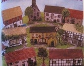 A  Childs Activity Book of Little English Cottages to cut out and construct.