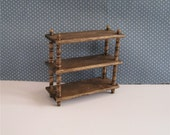 Display shelf.   twelfth scale,a dollhouse miniature
