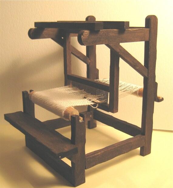 Loom Kit, Tudor style, twelfth scale, a dollshouse piece