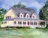 Original Custom House Painting