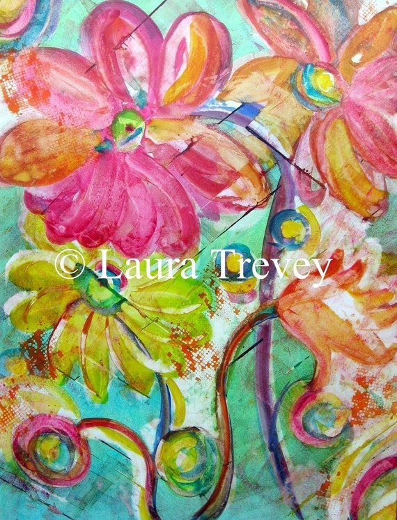 Summer Breeze, Giclee on Gallery wrapped Canvas