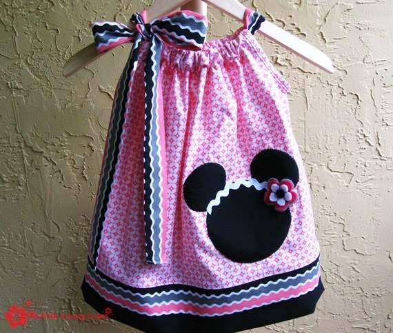 Custom Boutique Minnie Pillowcase Dress