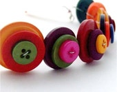 Multicolor Button Bracelet