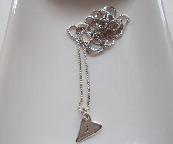 Broken Heart Necklace