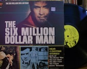 SIX MILLION DOLLAR MAN VINYL RECORD FROM 1975